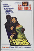 "Movie Posters:Mystery, Experiment in Terror (Columbia, 1962). One Sheet (27"" X 41""). GlennFord and Lee Remick star in this thriller about a woman ..."