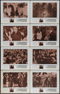 """Movie Posters:Documentary, Four Days in November (United Artists, 1964). Lobby Card Set of 8 (11"""" X 14""""). David L. Wolper and Mel Stuart produced this ... (Total: 8 Items)"""