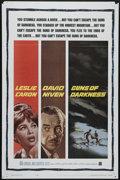 "Movie Posters:Drama, Guns of Darkness (Warner Brothers, 1962). One Sheet (27"" X 41""). David Niven is the manager of a plantation in South America..."