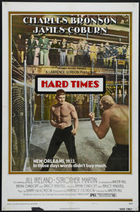 "Hard Times (Columbia, 1975). One Sheet (27"" X 41""). Style B. ""What does it feel like to knock somebody do..."