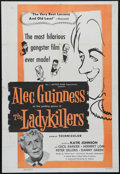 "Movie Posters:Comedy, The Ladykillers (Ealing, 1955). One Sheet (27"" X 41""). Comedy. Directed by Alexander MacKendrick. Starring Alec Guinness, Ce..."