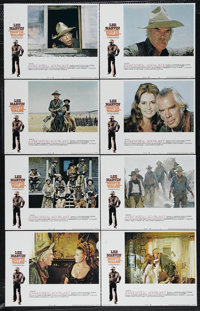 """Monte Walsh (National General, 1970). Lobby Card Set of 8 (11"""" X 14""""). Lee Marvin, Jeanne Moreau and Jack Pala..."""