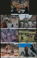"""Movie Posters:Science Fiction, Planet of the Apes (20th Century Fox, 1968). Lobby Cards (7) (11"""" X14""""). Franklin J. Schaffner directed this screen adaptat... (Total:7 Items)"""