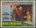 "Movie Posters:Adventure, River of No Return (Twentieth Century Fox, 1954). Lobby Card (11"" X14""). Otto Preminger directed Marilyn Monroe, Robert Mit..."
