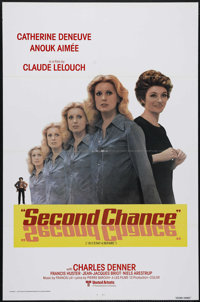 "Second Chance (United Artists Classics, 1981). One Sheet (27"" X 41""). After getting out of prison (for accesso..."