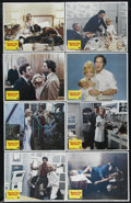 """Movie Posters:Comedy, Seems Like Old Times (Columbia, 1980). Lobby Card Set of 8 (11"""" X 14""""). When kidnappers force a writer (Chevy Chase) to rob ... (Total: 8 Items)"""