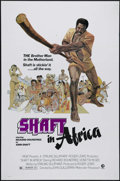 """Movie Posters:Blaxploitation, Shaft in Africa (MGM, 1973). International One Sheet (27"""" X 41"""").Great poster art for the final Richard Roundtree """"Shaft"""" f..."""