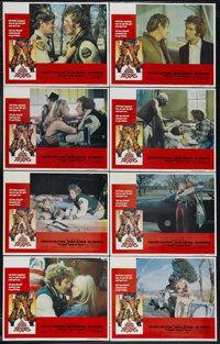 "A Small Town in Texas (American International, 1976). Lobby Card Set of 8 (11"" X 14""). Duke (Bo Hopkins), the..."