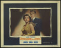 """Movie Posters:Hitchcock, Strangers on a Train (Warner Brothers, 1951). Lobby Card (11"""" X14""""). Robert Walker, Farley Granger and Ruth Roman star in t..."""
