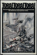 "Movie Posters:War, Tora, Tora, Tora (20th Century Fox, 1970). One Sheet (27"" X 41"").Style B. Heralded as one of the greatest war epics of all ..."