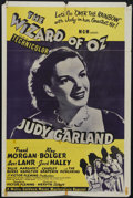 """Movie Posters:Musical, The Wizard of Oz (MGM, R-1955). One Sheet (27"""" X 41""""). Judy Garland stars as Dorothy in one of the most honored and beloved ..."""