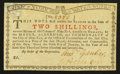 Colonial Notes:New York, New York January 6, 1776 (Water Works) 2s Extremely Fine-About New.. ...