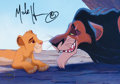 Animation Art:Poster, The Lion King Limited Edition Signed CommemorativeLithograph (Walt Disney, 1994)....