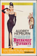 "Movie Posters:Romance, Breakfast at Tiffany's (Paramount, 1961). One Sheet (27"" X 41""). Romance.. ..."