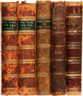 Books:Periodicals, [Bound Periodicals]. Five Bound Volumes of Good Words for theYoung, Later Re-Titled Good Things for the... (Total: 5Items)