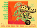 "Movie Posters:Science Fiction, The Beast from 20,000 Fathoms (Warner Brothers, 1953). Full-BleedBritish Quad (30"" X 40"").. ..."
