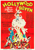 "Movie Posters:Musical, Hollywood Revue of 1929 (MGM, 1929). Swedish One Sheet (27.5"" X39.5"").. ..."