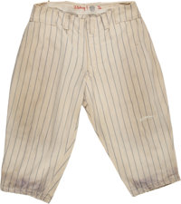 1936 Lou Gehrig Game Worn New York Yankees Pants, MVP Season--Photo Matched to World Series!