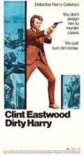 "Movie Posters:Crime, Dirty Harry (Warner Brothers, 1971). Three Sheet (41"" X 81"").. ..."