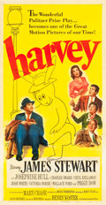 "Movie Posters:Comedy, Harvey (Universal International, 1950). Three Sheet (41"" X 79.5"")....."