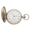 Timepieces:Pocket (pre 1900) , Elgin 18 Key Wind Pocket Watch. ...