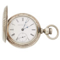 Timepieces:Pocket (pre 1900) , Elgin 18 Size Key Wind Hunter's Case. ...