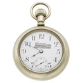 Timepieces:Pocket (post 1900), New Era U.S.A. 18 Size Pocket Watch. ...