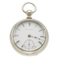 Timepieces:Pocket (pre 1900) , Waltham P.S. Bartlett Key Wind Pocket Watch. ...