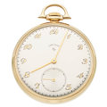 Timepieces:Pocket (post 1900), Elgin 21 Jewel 14k Gold Pocket Watch. ...