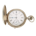 Timepieces:Pocket (post 1900), P.S. Bartlett Waltham 15 jewel 18 Size Pocket Watch. ...