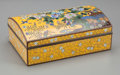Asian:Japanese, A Japanese Cloisonné Enamel Box. 6-1/2 inches long (16.5 cm). ...
