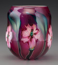 Art Glass:Other , A Charles Lotton Multi Flora Glass Vase, Crete, Illinois,circa 1993. Marks: Charles Lotton, 1993, Multi Flora...