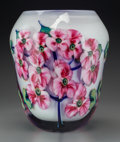 Art Glass:Other , A John Lotton Cased and Layered Multi Flora Glass Vase,Crete, Illinois, circa 1994. Marks: John Lotton, 1994...