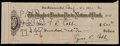 Baseball Collectibles:Others, 1931 Ty Cobb Check. ...