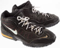 Basketball Collectibles:Others, Alton Lister Game Worn Shoes....