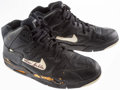 Basketball Collectibles:Others, Kevin Gamble Game Worn, Signed Boston Celtics Shoes....