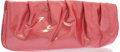 """Luxury Accessories:Bags, Judith Leiber Pink Patent Leather Clutch . Good Condition. 10""""Width x 4.5"""" Height x 2"""" Depth. ..."""