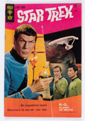 Silver Age (1956-1969):Science Fiction, Star Trek #1 (Gold Key, 1967) Condition: FN....