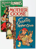 Golden Age (1938-1955):Miscellaneous, Four Color Mother Goose/Santa Claus Related Group of 13 (Dell, 1944-49) Condition: Average GD+.... (Total: 13 Comic Books)