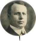 Political:Pinback Buttons (1896-present), James M. Cox: Scarce Grey-Tone Picture Pin....