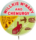 Political:Pinback Buttons (1896-present), Wendell Willkie: Colorful Chemurgy Button....