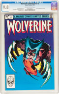 Modern Age (1980-Present):Superhero, Wolverine Limited Series #2 (Marvel, 1982) CGC NM/MT 9.8 Off-whiteto white pages....