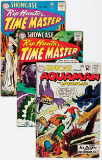 Showcase Group of 7 (DC, 1959-66) Condition: Average VG.... (Total: 7 Comic Books)