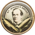 Political:Pinback Buttons (1896-present), William Jennings Bryan: Ears-of-Corn Picture Badge....