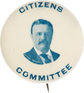Political:Pinback Buttons (1896-present), Theodore Roosevelt: Unique Picture Pin....