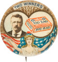 Political:Pinback Buttons (1896-present), Theodore Roosevelt: Two Winners Advertising Button....