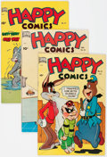 Golden Age (1938-1955):Funny Animal, Happy Comics Group of 4 (Standard, 1949-50) Condition: AverageVF.... (Total: 4 Comic Books)