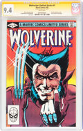 Modern Age (1980-Present):Superhero, Wolverine Limited Series #1 Signature Series (Marvel, 1982) CGC NM9.4 White pages....