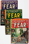 Golden Age (1938-1955):Horror, Haunt of Fear #7, 18, and 25 Group (EC, 1951-54) Condition: AverageGD.... (Total: 3 Comic Books)