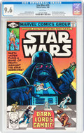 Modern Age (1980-Present):Science Fiction, Star Wars #35 (Marvel, 1980) CGC NM+ 9.6 White pages....